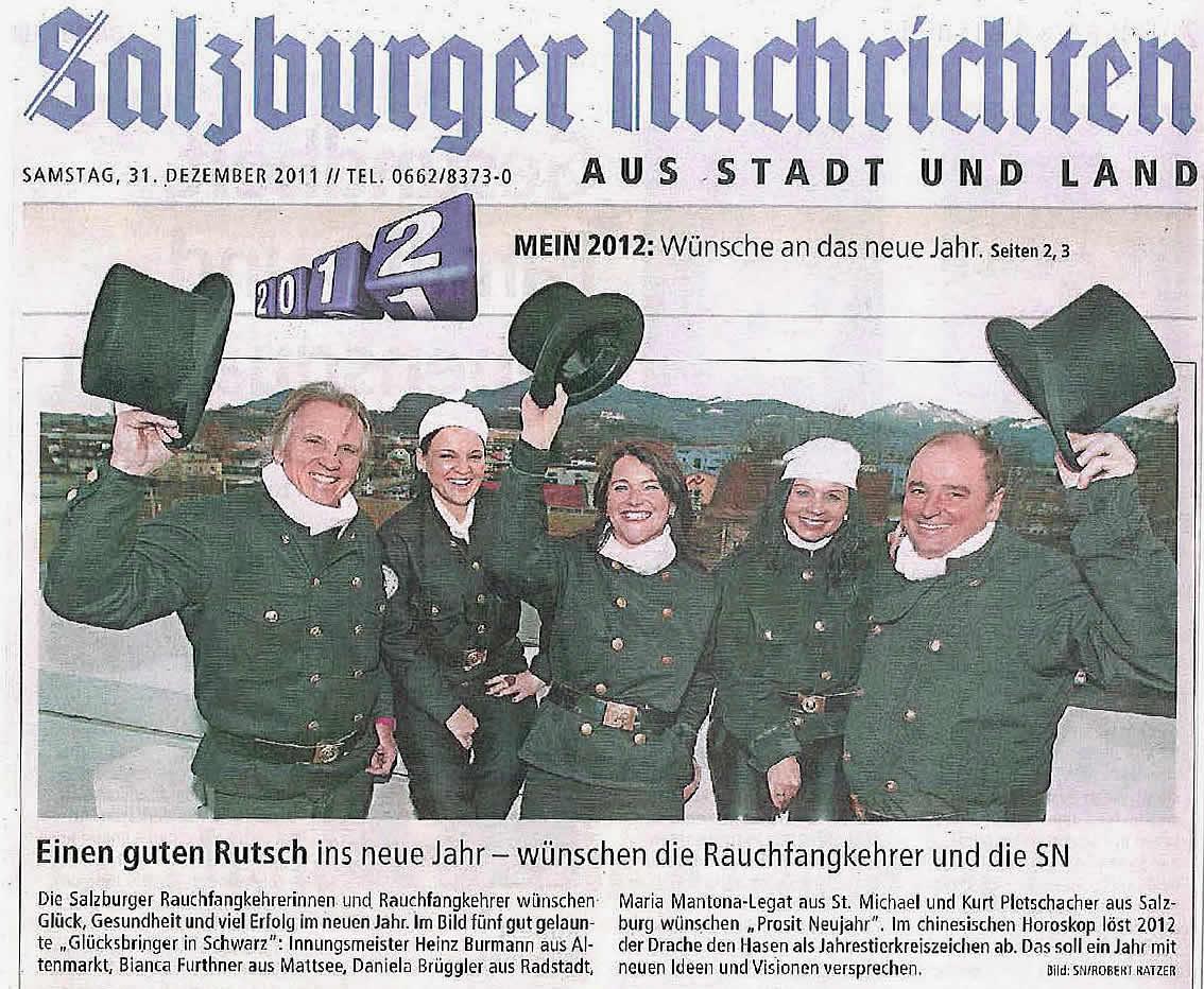 Salzburger NAchrichten 2012