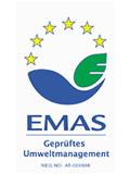 Logo EMAS Geprüftes Umweltmanagement